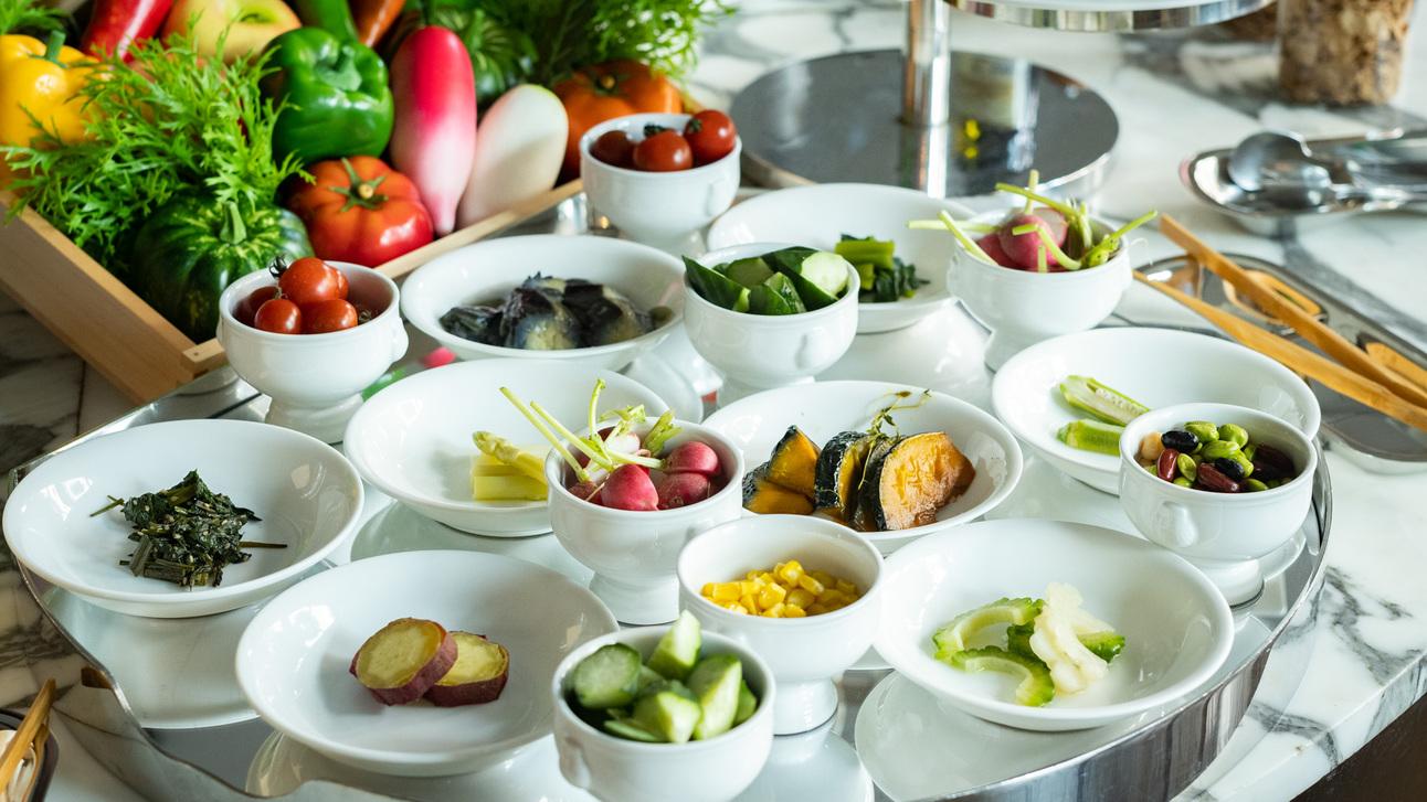【朝食】糸島野菜