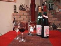 キャンドル&ワイン