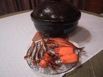 土鍋での燻製