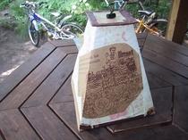 自家製手作り燻製器(冷燻塔)