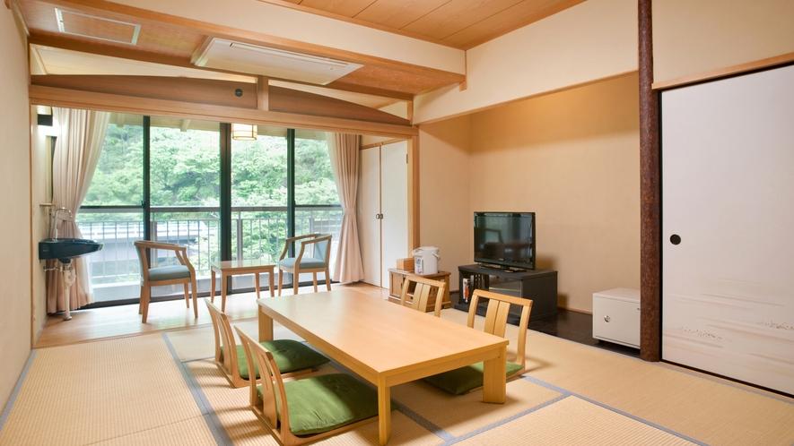 *【禁煙・スタンダード】2F和室8畳(バス・トイレ付)一例/スタンダードな和室のお部屋です。