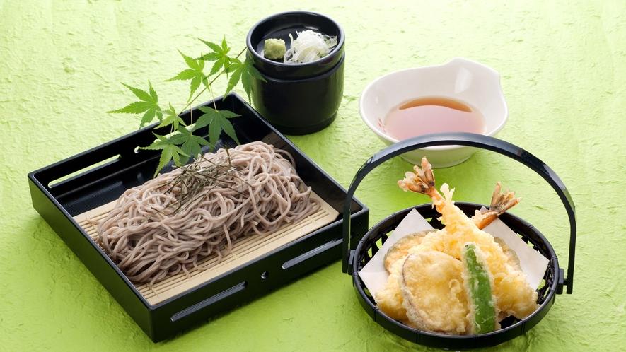 *単品一例/レストランには自家製の蕎麦もございます。単品でご注文いただけます。