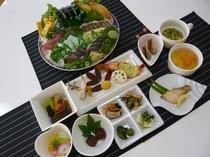 ★高知の郷土料理を満喫♪ 皿鉢&会席料理プラン♪/夕食例