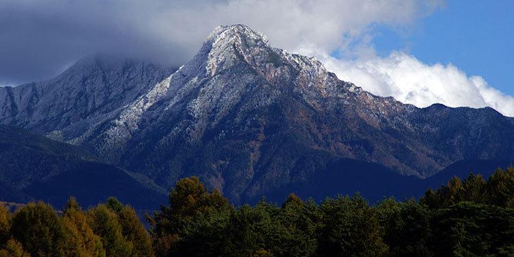 初冬の八ヶ岳・冠雪