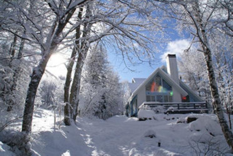 冬の外観-best