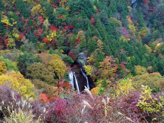 横谷渓谷観音平から見下ろす王滝