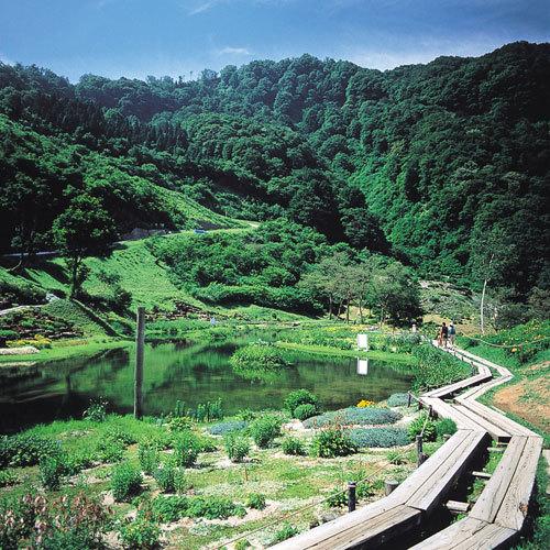 【アルプスの里】湿生園(イメージ)