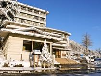 雪国の宿 高半 冬
