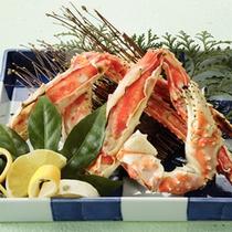 タラバ蟹焼き一例