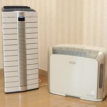 お部屋◆空気清浄機・加湿器