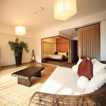 お部屋◆アジアンダブルスイート