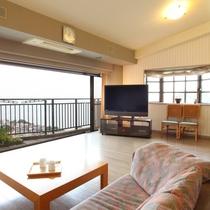 お部屋◆海の見える和洋室(海眺望はお部屋により異なります。)