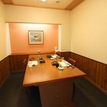 食事処【夕なぎ】/夕食は「個室」でお召し上がりいただております。※個室一例