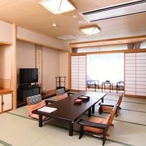 【和洋室】一例/落ち着いた和室と大きく取られた窓から自然が溢れる洋室の2室あるお部屋です。