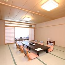 【和室15畳】一例/広々とした和室15畳は、ご家族で、お仲間でお過ごしいたくにはぴったりのお部屋です