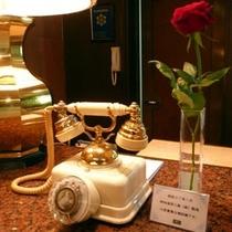 貴重な電話機です。(昭和57年1月製造)