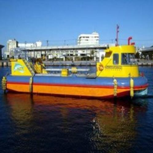水中観光船『にじいろさかな号』