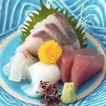 ◆地魚中心のお造り※季節により異なります。