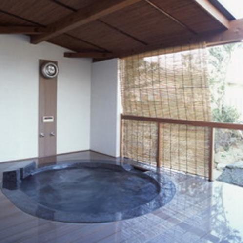 露天風呂付き客室「麿墨(するすみ)」