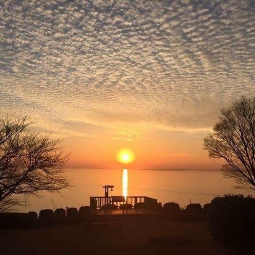 【周辺】西浦園地の夕陽