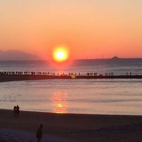 【周辺】西浦パームビーチ初日の出