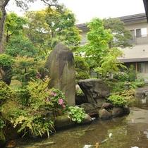 四季を感じさせる庭園