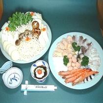 選べるお鍋プラン【海鮮寄せ鍋】