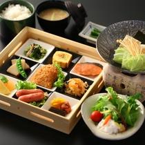 ■【朝食】いかりや名物!招福九膳