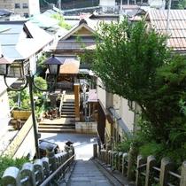 ■渋温泉の風景