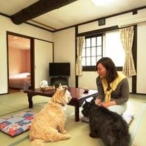客室-和洋室1☆2~6名でご利用になれます
