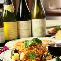 イタリアン夕食♪お酒がピッタリです