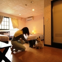 客室-和洋室3☆2~6名でご利用になれます