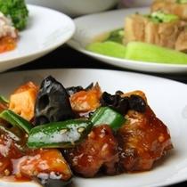 中華夕食♪酢豚