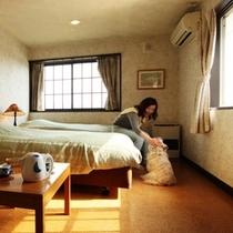 客室-ツイン☆2名様でご利用になれます
