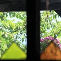 窓からの外のイメージ