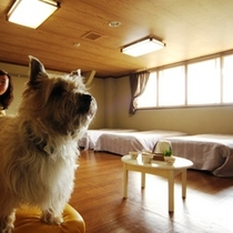 客室-スキーヤーズルーム☆3~8名でご利用になれます