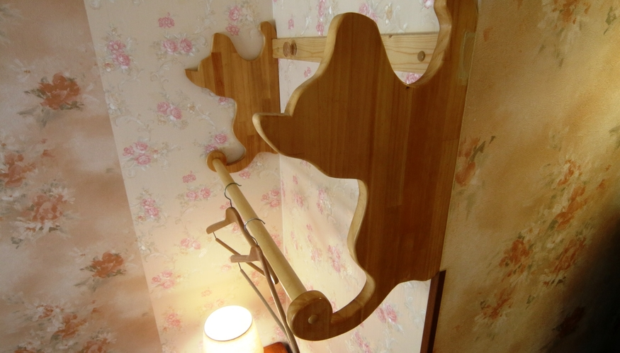【客室】かわいいインテリア