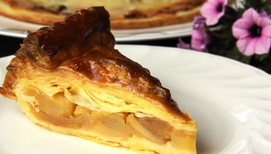 イタリアン夕食♪アップルパイ