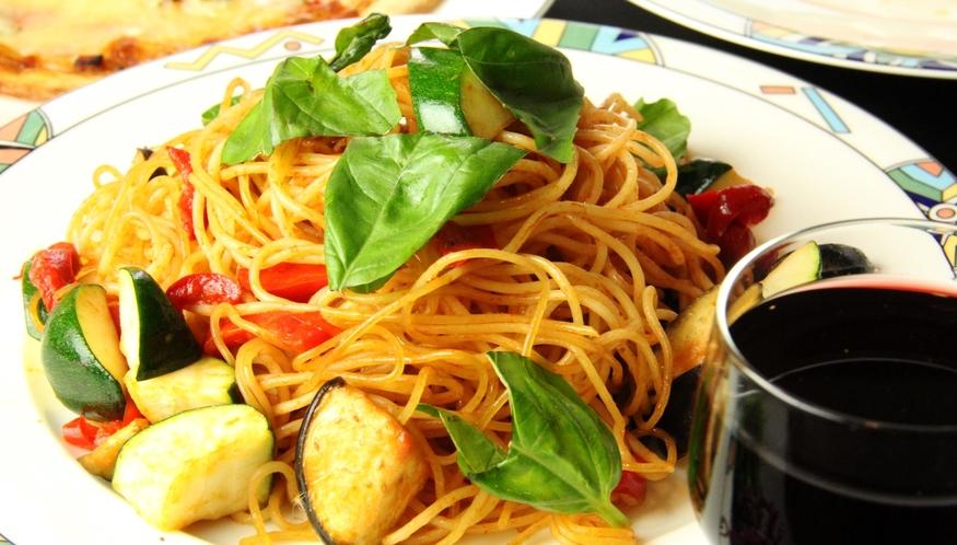 イタリアン夕食♪旬な食材をお手製パスタでお召し上がり頂けます