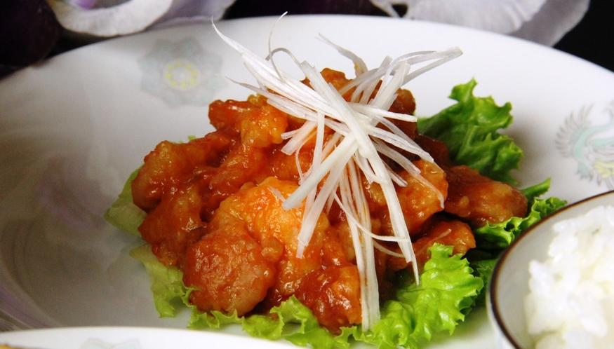 中華夕食♪エビチリ