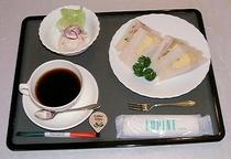 朝食例:洋食