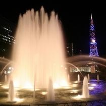 大通公園(夜景)
