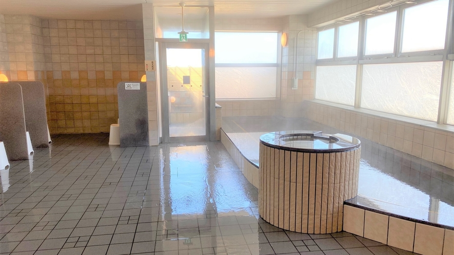 女性大浴場 大浴殿