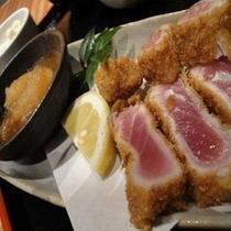 中トロカツ定食:1,500円