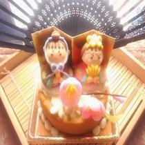 ケーキ屋さんオリジナル雛ケーキ