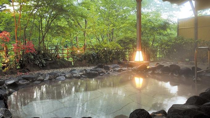 【巡るたび、出会う旅。東北】【のんびり温泉プラン】ゆったり13畳♪全室川側のお部屋★貸切風呂無料