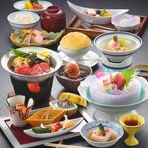 春の個室会席プランのお料理☆彡
