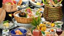 夏のお食事イメージ(お部屋食プラン)