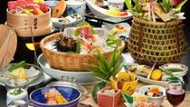 夏季限定特撰会席 お料理の一例♪