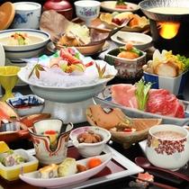秋のお食事イメージ(個室プラン)